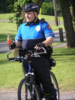 Bike security overlooks the event (PDF)