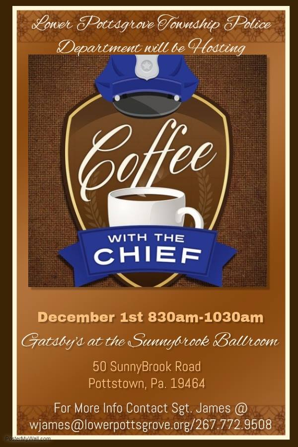 Coffee with the Chief Event Flier